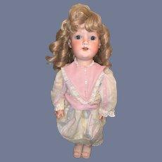 Antique Doll Bisque Armand Marseille 390 Heinrich Handwerck Stamped Body