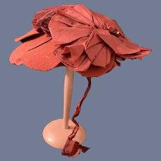 Antique Doll Bonnet Hat Wonderful Fashion Doll Fancy