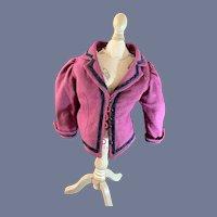 Wonderful Vintage Doll Coat Jacket Fashion Doll