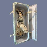 Wonderful Wood Doll Carved Artist Walking Doll Asya Tokareva Multi Pede Doll Glass Eyes Jointed FAB