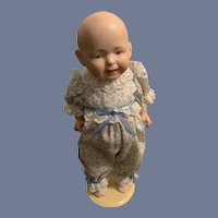 Antique Bisque Solid Dome Doll 160 Baby Doll