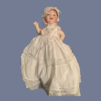 Antique Bisque Doll Morimura Baby Doll WONDERFUL Doll Clothes Sweet