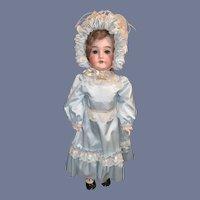 Antique Doll Bisque Queen Louise Fab Clothes Big Girl Doll Bonnet