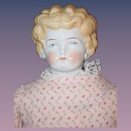 Antique Doll China Head BIG Beautiful Features