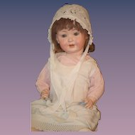 Antique Doll Bisque Toddler PM 914 ADORABLE