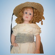 Wonderful Doll Linda Murray Poured Wax Huge Doll Signed