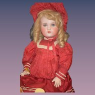 Antique Doll Bisque S.F.B.J. Paris French HUGE Dressed