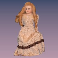 Antique Doll Bisque Dep Kestner Turned Head French Market