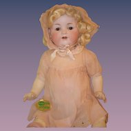 Antique Doll Bisque Armand Marseille 990 All Original Clothing W/ Tag