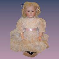 Antique Doll Bisque George Borgfeldt Doll Pale Bisque Sweet Face