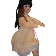Antique Doll Child Circus Horse Ride On Tri-Cycle Miniature Toy