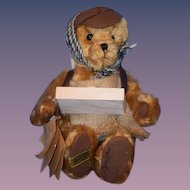 Teddy Bear Merrythought Muff in Man Jointed Bear with Tags Ltd. Edition # 29 English Bear