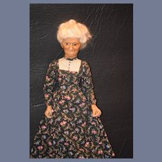 Wonderful Doll Wax Lewis Sorensen Portrait Doll Lady Glass Eyes Artist Doll