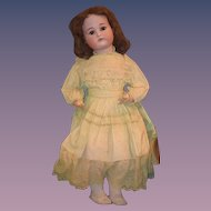 "Antique Doll Simon Halbig Kammer Reinhardt Bisque Large Bisque Girl K*R 29"" Tall"