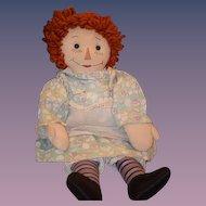 Vintage Doll Raggedy Ann ADORABLE