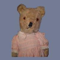 Old Teddy Bear Jointed Mohair Adorable