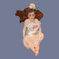 Wonderful Doll Artist Wax Doll Jointed Lady Doll