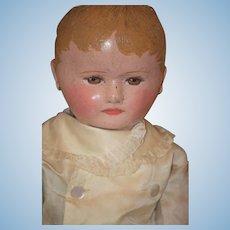 Wonderful Doll Large Martha Chase Oil Cloth Doll Best Face!