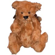 Vintage Teddy Bear Artist Bearly There Bear Linda Spiegel -Lohre Jointed