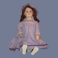 Antique Doll French Bisque Sweet Girl Petite Francaise