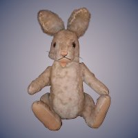 Vintage Rabbit Bunny Steiff Jointed Mohair