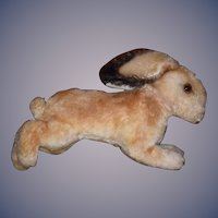 Old Rabbit Mohair Steiff? Running Rabbit Bunny Doll Friend