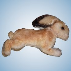 Old Rabbit Mohair Steiff? Running Rabbit Bunny Doll Friend