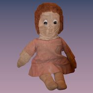 Old Doll Cloth Doll Rag Doll Character Doll