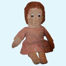 Old Doll Cloth Doll Rag Doll Character Doll