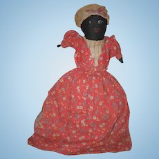 Old Doll Cloth Doll Rag Doll Black Doll White Doll Topsy Turvy Folk Art Primitive