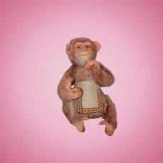 Old Doll Cloth Monkey Toy Wonderful Unusual