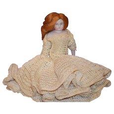 Vintage Doll Miniature Dollhouse Artist Doll Gail Curry Bisque