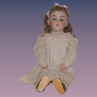 Antique Doll Beautiful German Bisque Child Max Handwerck