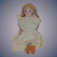 Antique Doll Bisque French Mechanical Jules Steiner Gigoteur Gorgeous Face