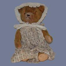 Old Teddy Bear Jointed Mohair Sweet