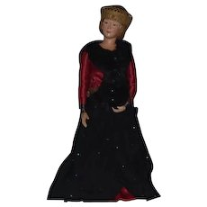 Evelyn Green Doll Artist OOAK Large Doll in Original Costume