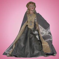 Wonderful Doll Evelyn Green Artist Doll Original Costume