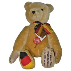 Wonderful Mohair Hermann Teddy Bear Jointed Limited Edition