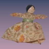 Vintage Doll English Wood Miniature Dollhouse Jill Nix
