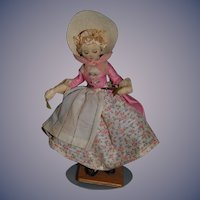 Vintage Doll Margaret Finch N.I.A.D.A. Cloth Doll W/ Tag