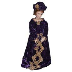 "Wonderful Thelma Resch Doll For UFDC Signed W/ Original Tag ""Laura"" Artist Doll"