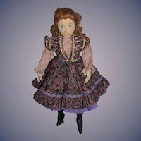 Wonderful Doll Cloth Doll Artist Doll Mimi Winer Character Wonderful