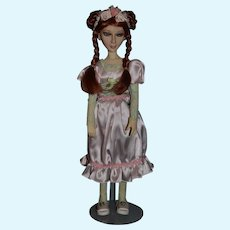 Wonderful Doll Artist BJD Unusual Look Signed  Paulette Goodreau For UFDC