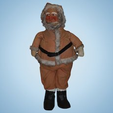 Old Large Santa Claus Wonderful Store Display Mask Face Wonderful