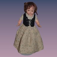 Wonderful Old Doll Topsy Turvy Composition Unusual Cinderella  Sweet