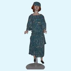 Wonderful Doll Wax Edna Daly Character Doll  Artist Wonderful
