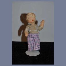 Old Doll Cloth Doll Rag Doll Folk Art
