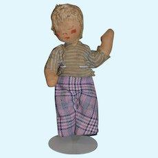 Old Doll Cloth Doll Rag Doll Folk Art