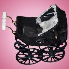 Sweet Doll Miniature Heidi Ott Pram Carriage Stroller Dollhouse Artist