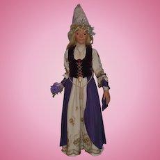 Wonderful Doll Artist Large Portrait Doll From Irish Folktales Irene R. Graham Fairy Princess Angelina